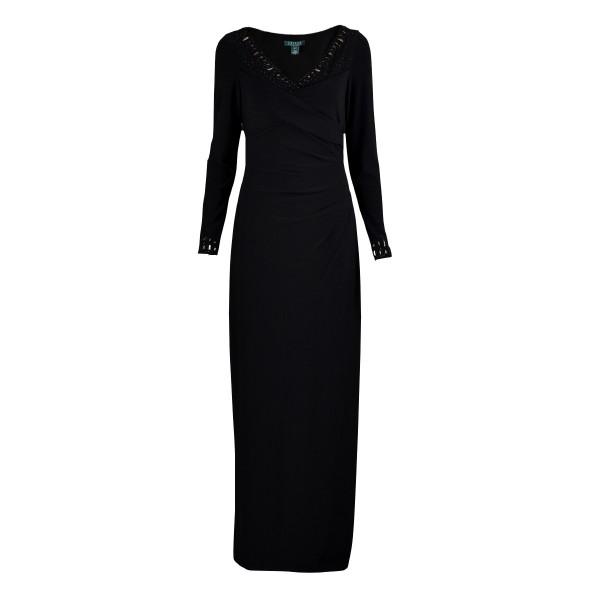 RALPH LAUREN suknia maxi S