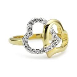 SWAROVSKI pierścionek r. 14