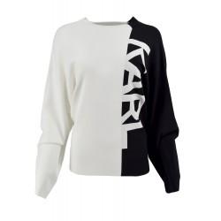 KARL LAGERFELD sweter L